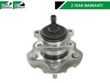 FOR TOYOTA AURIS AVENSIS 2008- REAR AXLE WHEEL HUB BEARING WITH ABS PLUG SENSOR