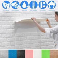 10Pcs 77 см самоклеящиеся настенные наклейки пены обои водонепроницаемые сделай сам домашнего декора