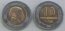 Uruguay 10 Pesos Uruguayos 2000 p121 unz.