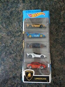 Hotwheels Lamborghini Car Set