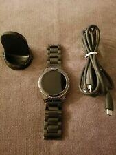 Samsung Gear S2 SM-R732 Stainless Steel Case SmartWatch Dark Gray