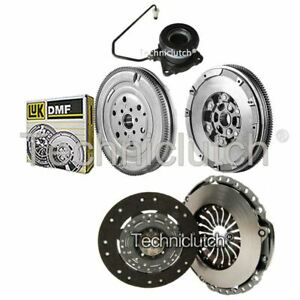 CLUTCH KIT AND LUK DMF WITH CSC FOR OPEL ASTRA H SPORT HATCH HATCHBACK 2.0 TURBO