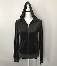 Juicy Couture Velour Zip Up Hoodie Size Juicy Couture On Back Size Large