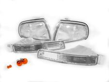 1995-1996 TOYOTA CAMRY DEPO CLEAR FRONT CORNER LIGHTS + BUMPER SIGNAL LAMPS NEW