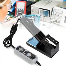 938d Mini Hot Tweezers Soldering Station For Bga Smd Repair 200480c Portable