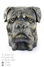 Bullmastiff, dog head urn made of Resin, ArtDog, CA