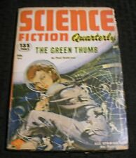 1953 Feb SCIENCE FICTION QUARTERLY Pulp Magazine v.1 #2 VG- 3.5 Poul Anderson