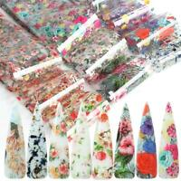 Starry Sky Nail Foil Manicure Decor Holographic Decals Nail Art Stickers