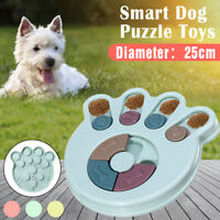 Smart Dog Puzzle Toy Food Puppy Treat Dispenser Interactive IQ Training Game -)