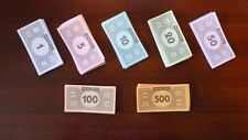 Complete - Monopoly Board Game Replacement Pieces Money Properties cards 2013