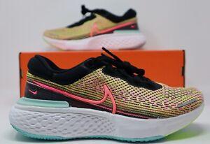 Women's Nike Zoom X Invincible Run Flyknit Volt DJ5926 700