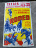 """Vintage AUTHENTIC DIAMOND S RODEO AND WILD WEST SHOW POSTER 14""""x 22"""" TAYLOR NY"""