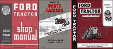 1955 1956 1957 Ford Tractor Manual Set 820 840 850 860 620 630 640 650 66
