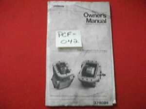 CHELSEA OWNER'S MANUAL (INSTALLATION & SHIFTING OPTIONS) SIDE MOUNTED P.T.O. 6/8