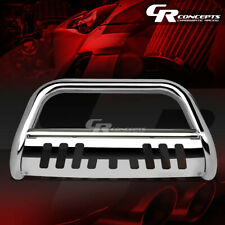 """CHROME 3"""" FRONT BUMPER GRILLE/GRILL GUARD+SKID FOR 09-18 DODGE RAM 1500 PICKUP"""