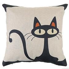 u; Cotton Linen Pillow Case Waist Sofa Cush Home Decor Throw Cushion Covers