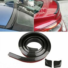 Car Decor Rear Wing Lip Spoiler 3d Carbon Fiber Tail Trunk Roof Trim Sticker Us Fits Saturn Aura