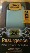 New OEM OtterBox Resurgence Teal Shimmer Power Battery Case For iPhone 5/5S/SE