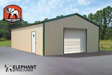 Metal Garage Building Kit 20 X 26 X 9 For 9155