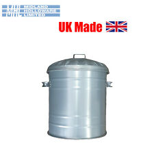 Galvanised Mini Bin 15Litre Small Dustbin Rubbish Waste Storage Heavy Duty!