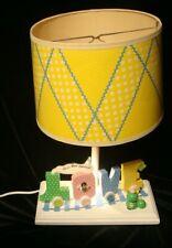 ViTg Nursery Table Lamp Love Train Love Bug Special Judi;s Orijinals