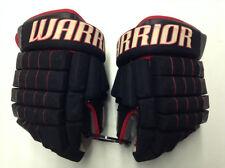 "Warrior Franchise Pro Stock Custom Hockey Gloves 14""  NHL Blackhawks Used"