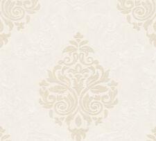 Vliestapete Barock Ornament Glitzer creme beige 95372-7 Memory 3