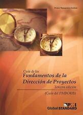 Guia de los Fundamentos de la Direccion de Proyectos (Pmbok Guide) (Spanish