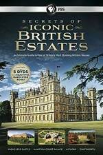 Secrets of Iconic British Estates (DVD, 2014, 5-Disc Set) NICE