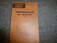 Caterpillar Cat D5 Power Shift Crawler Tractor Dozer Parts Catalog Manual Book