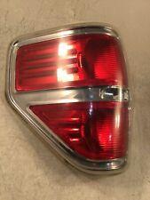 09 10 11 12 13 14 Ford F150 Left Driver Side Chrome Tail Light OEM.