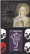 LOT OF 2 MICHAEL KNOTT LS UNDERGROUND/LIFESAVERS XIAN ALTERNATIVE PUNK *NEW CDs