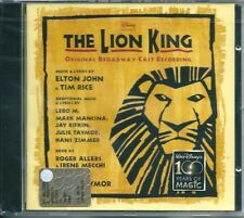 The Lion King Original Broadway Cast Record (1997) CD NUOVO SIGILLATO Elton John