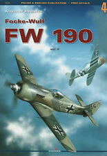 Focke-Wulf FW 190  vol.2 Kagero Monograph (without decals)  English!