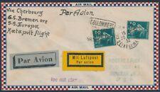 Katapultflug Dampfer Bremen 24.7.1932 aus Frankreich nicht geflogen (S18529)