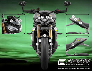Motorcycle Stone Chip Protection PPF Triumph SPEED TRIPLE 1200 RS 2021+