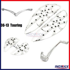 Chrome Gauge floorboards for 2008-2013 Touring Road king Special FLHRXS FLHXS