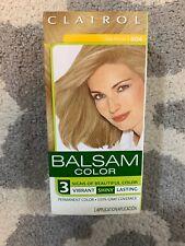 Clairol Balsam Permanent Hair Color Dark Blonde 604 New In Box Free Ship C9