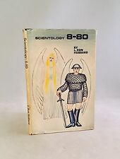Scientology: 8-80-L. Ron Hubbard-First/1st NEW EDITION!!-1972-HC w/ DJ-VERY RARE