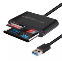USB SD Card Reader USB 3.0 Memory Card Reader Writer Compact Flash Card Adapter