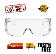 Tour-Guard V Protective Eyewear, 20 / Box, Clear Lens, Clear Temple, Medium size