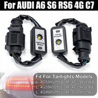 Semi Dynamische Blinker LED Laufblinker Für AUDI A6 S6 RS6 4G C7 Rückleuchte
