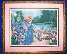 Victorian Afternoon Picture Cross Stitch Kit M. Wyatt Candamar Design Woman Open