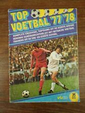 Album Football TOP VOETBAL 77/78 1977 1978 Vanderhout HOLLAND No Panini