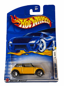 Hot Wheels Mini Cooper S - Yellow First Edition - Combined Postage Available