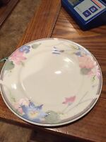 """Avantiage Floral Fine China Bread Or Salad Plate-7 1/2"""""""
