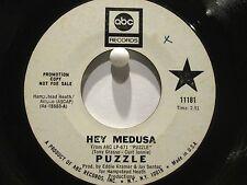 Puzzle ABC 11181 Promo  Hey Medusa b/w Make the Children Happy  Hard Garage