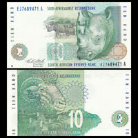 South Africa 10 Rand, ND(1993), P-123a, Banknote, UNC