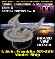 Star Trek The Starship Collection USS Franklin NX-326 Model Ship Special Edition