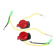 2Pcs Generator On Off Engine Stop Kill Switch Control For Honda GX120 GX 160 DY